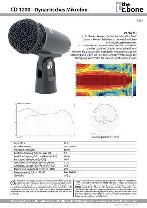 Datenblatt: CD 1200