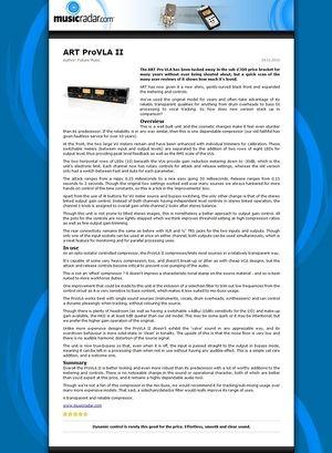 MusicRadar.com ART ProVLA II
