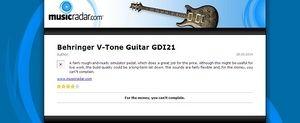 MusicRadar.com Behringer V-Tone Guitar GDI21