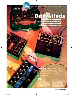 Guitarist TC Electronic ND1 Nova Delay