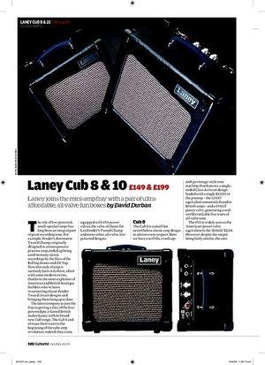 Guitarist Laney Cub 10