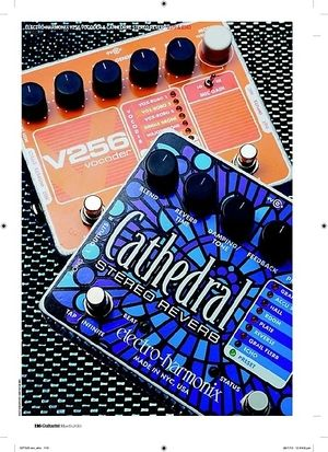 Guitarist ElectroHarmonix V256 Vocoder