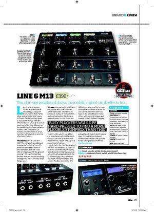 Total Guitar LINE 6 M13