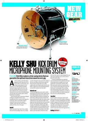 Rhythm KELLY SHU KICK DRUM MICROPHONE MOUNTING SYSTEM