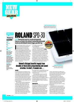 Rhythm ROLAND SPD30