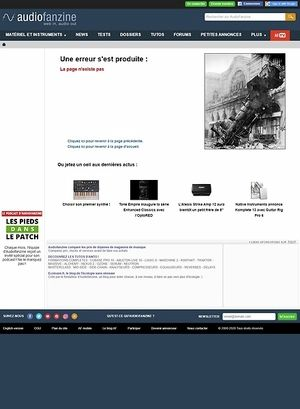Audiofanzine.com Vintage Electric V100