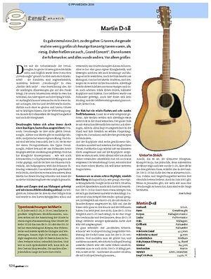 Guitar Test: Martin D-18
