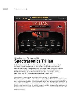 Sound & Recording Spectrasonics Trilian