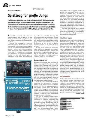 Guitar gear Effekte - Boss PS-6 Harmonist