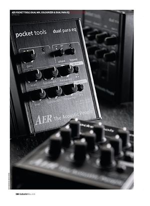 Guitarist AER Pocket Tools Colourizer
