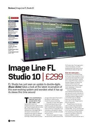 Future Music Image Line FL Studio 10