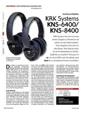 KEYS KRK Systems KNS-6400/KNS-8400