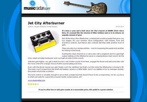MusicRadar.com Jet City Afterburner