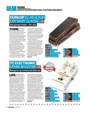 Total Guitar TC ELECTRONIC SPARK BOOSTER