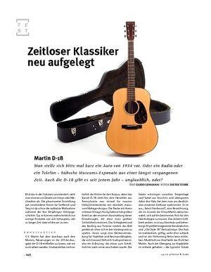 Gitarre & Bass Martin D-18, A-Gitarre