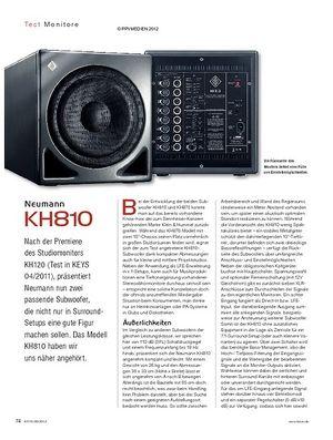 KEYS Neumann KH810