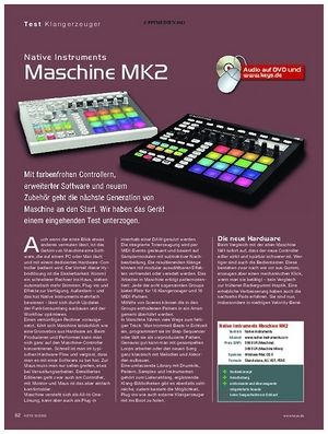 KEYS Native Instruments Maschine MK2
