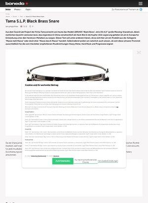 Bonedo.de Tama 14
