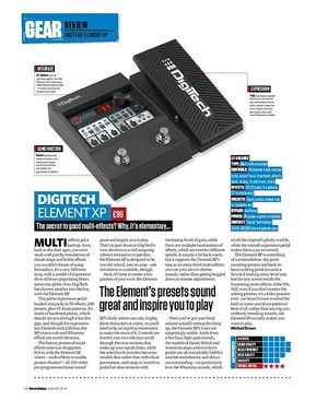 Total Guitar Digitech Element XP