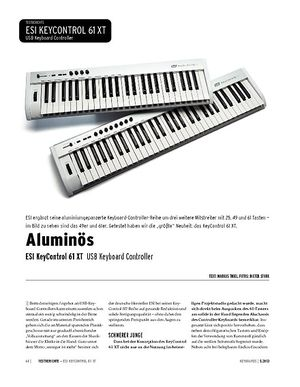 Keyboards ESI KeyControl 61 XT - USB-Keyboard-Controller