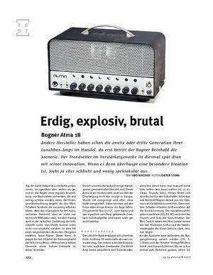 Gitarre & Bass Bogner Atma 18, Tube-Head