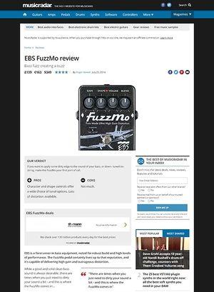 MusicRadar.com EBS FuzzMo