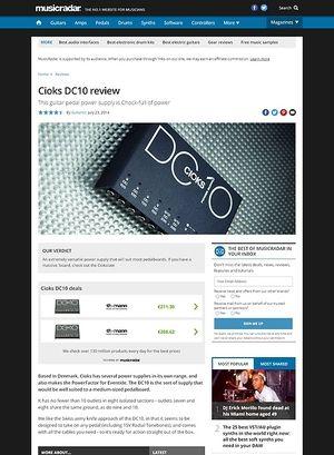 MusicRadar.com Cioks DC10
