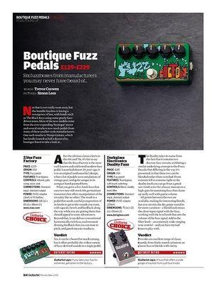 Guitarist Darkglass Electronics Duality Fuzz