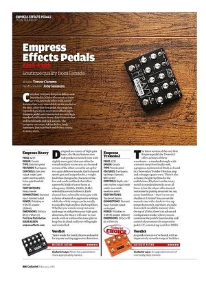 Guitarist Empress Heavy
