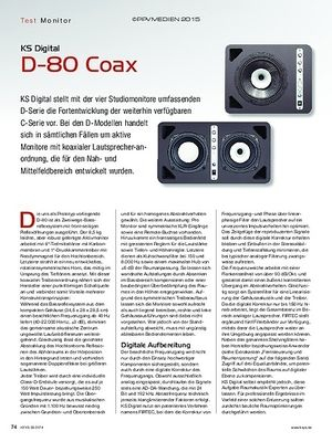 KEYS KS Digital D-80 Coax