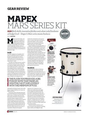 Rhythm Mapex Mars Series