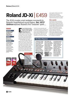 Future Music Roland JD-Xi