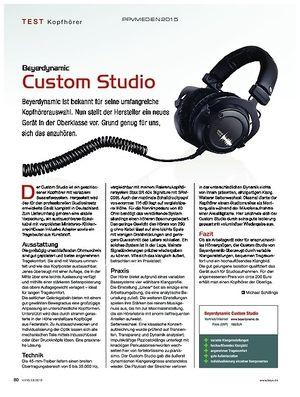 KEYS Beyerdynamic Custom Studio