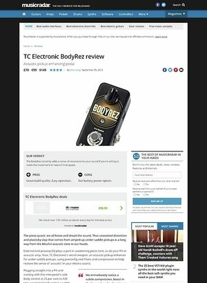 MusicRadar.com TC Electronic BodyRez