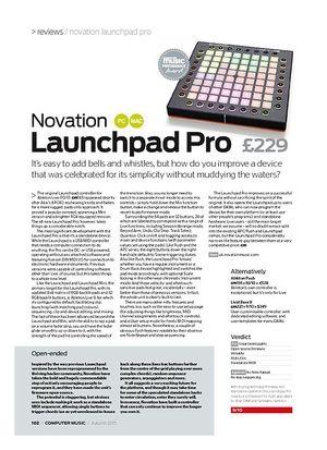 Computer Music Novation Launchpad Pro