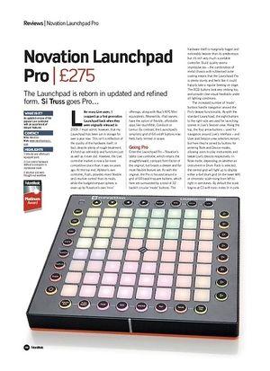 Future Music Novation Launchpad Pro