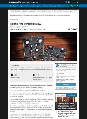 MusicRadar.com Roland Aira Torcido