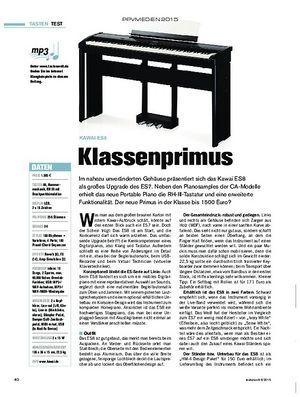 tastenwelt Kawai ES8