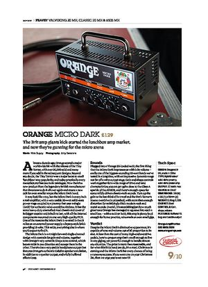 Guitarist Orange Micro Dark
