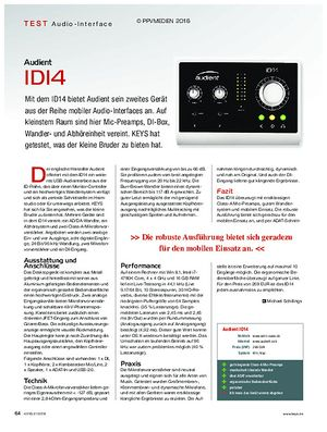KEYS Audient IDI4