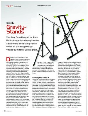 KEYS Gravity-Stands
