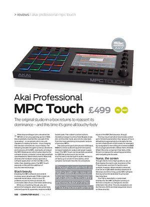 Computer Music Akai Professional MPC Touch