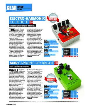 Total Guitar Electro-Harmonix Cock Fight