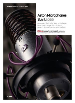 Future Music Aston Microphones Spirit