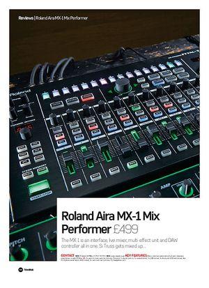 Future Music Roland Aira MX-1 Mix Performer