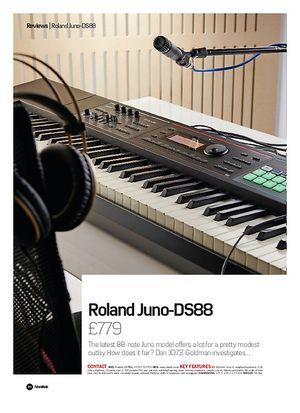 Future Music Roland Juno DS88