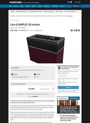 MusicRadar.com Line 6 AMPLIFi 30