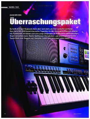 tastenwelt Casio MZ-X500