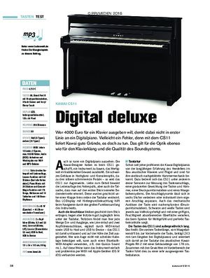 tastenwelt Kawai CS11: Digital deluxe