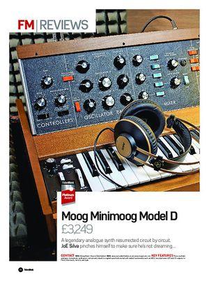 Future Music Moog Minimoog Model D